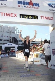 The Ironman Fundraiser Crosses the Finish Line in Style