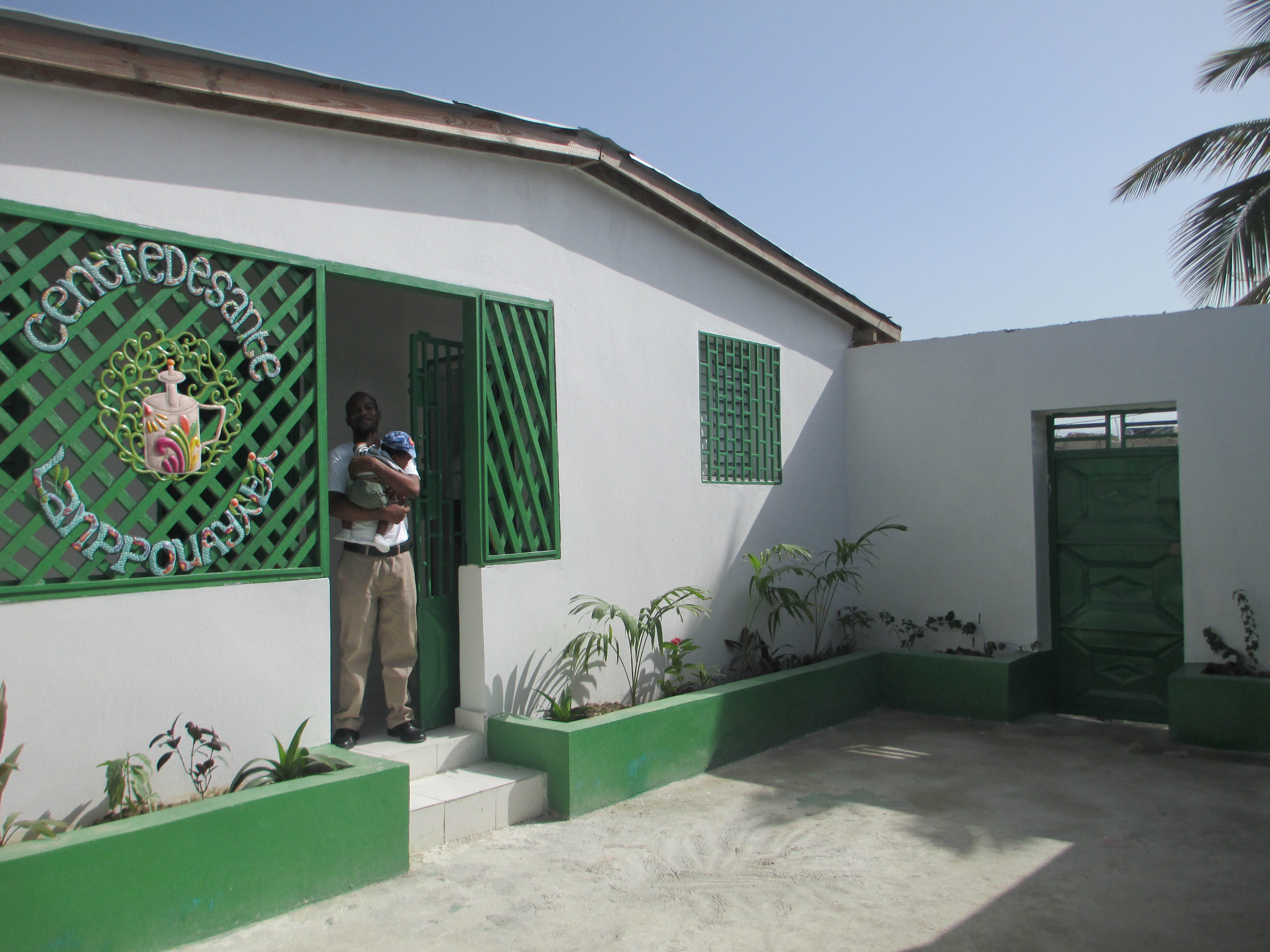 The Lamp for Haiti Health Center expands