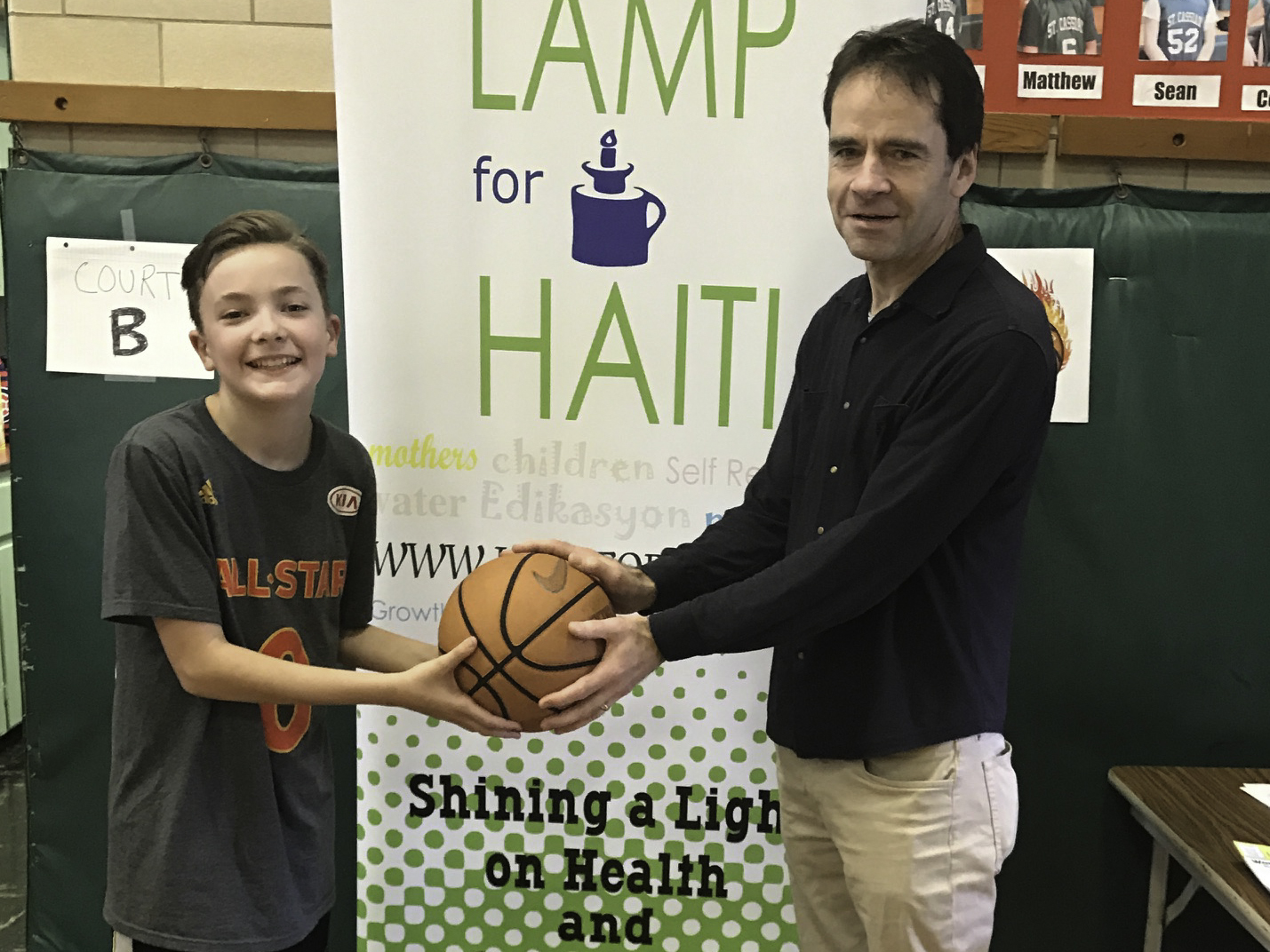 Making a Difference — Through Basketball