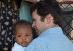 Jim and child