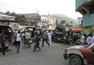 Haiti = Energy + Population (squared)